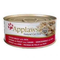Konserwa Applaws Cat Chicken and Duck, 70 g