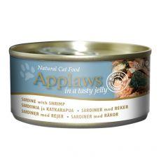 Konserwa Applaws Cat Jelly Sardine with Shrimp 70 g