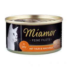 Konserwa Miamor Filet kurczak i przepiórcze jaja 100 g