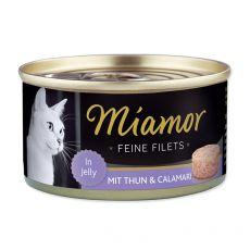 Konserwa Miamor Filet tuńczyk i kałamarnica 100 g