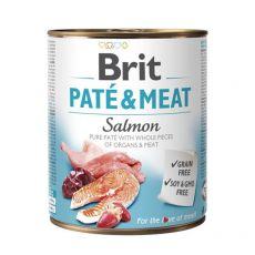 Konserwa Brit Paté & Meat Salmon, 800 g