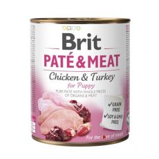 Konserwa Brit Paté & Meat PUPPY, 800 g