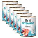 Konserwa Brit Paté & Meat Salmon 6 x 800 g