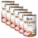 Konserwa Brit Paté & Meat Rabbit 6 x 400 g