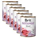 Konserwa Brit Paté & Meat Lamb 6 x 800 g