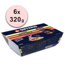 ONTARIO tacka z mięsem Lamb with Rice - 6 x 320g