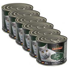 Konserwa dla kotów Leonardo, kaczka 6 x 200 g