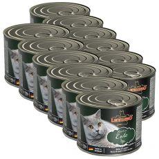 Konserwa dla kotów Leonardo, kaczka 12 x 200 g