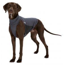 Przeciwpasożytnicza kamizelka dla psów S, siwa