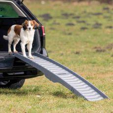 Plastikowa, rozkładana rampa dla psów, 39 x 150 cm