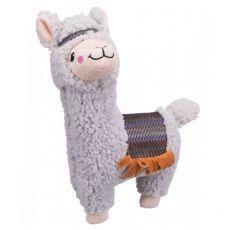 Pluszowa zabawka dla psa - alpaka, 31 cm