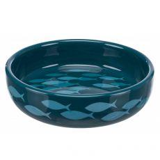Ceramiczna miska dla psów i kotów z krótkimi nosami 0,3 L