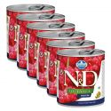 Farmina N&D dog Quinoa Digestion konserwa 6 x 285 g, 5+1 GRATIS