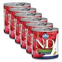 Farmina N&D dog Quinoa Weight Management 6 x 285 g, 5+1 GRATIS