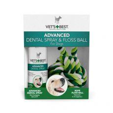 Spray dentystyczny + bawełniana piłka VET´S BEST