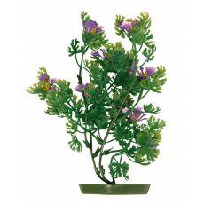 Roślina do akwarium, 25 cm fioletowe kwiaty