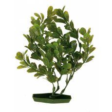Plastikowa roślina do akwarium - ielone liście, 28 cm