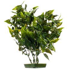 Plastikowa roślina do akwarium - liście serca, 28 cm