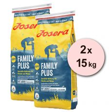 JOSERA Family Plus 2 x 15 kg