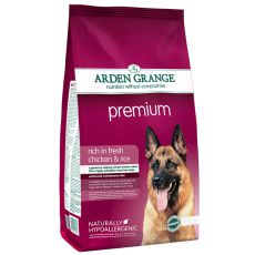 ARDEN GRANGE Premium rich in fresh chicken & rice 2 kg