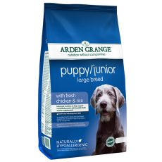 ARDEN GRANGE Puppy / Junior Large Breed with fresh chicken and rice 2 kg