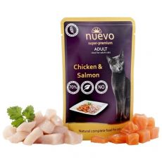 Saszetka NUEVO CAT Adult Chicken & Salmon 85 g