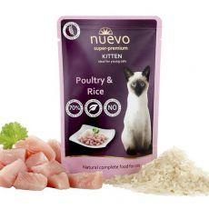 Saszetka NUEVO CAT Kitten Poultry & Rice 85 g