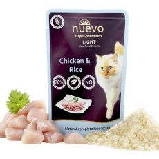 Saszetka NUEVO CAT Light Chicken & Rice 85 g