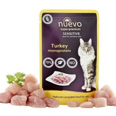 Saszetka NUEVO CAT Sensitive Turkey Monoprotein 85 g