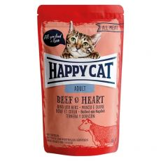 Saszetka Happy Cat ALL MEAT Adult Beef & Heart 85 g