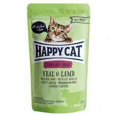 Saszetka Happy Cat ALL MEAT Adult Sterilised Veal & Lamb 85 g