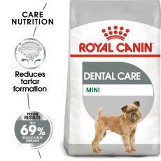ROYAL CANIN Mini Dental Care karma dla psów ograniczająca tworzenie się kamienia nazębnego  8 kg
