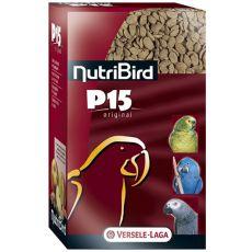 NutriBird P15 Original 1kg - granulat dla papug