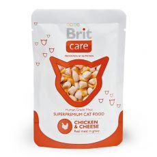 Saszetka Brit Care Cat Chicken & Cheese 80 g