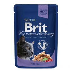 Saszetka BRIT Premium Cat Cod Fish 100 g