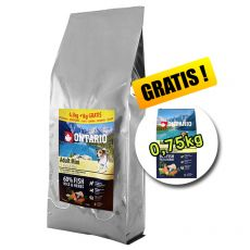 ONTARIO Adult Mini 7 Fish & Rice 7,5 kg + 0,75 kg GRATIS