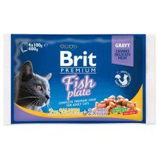 Saszetki BRIT Premium Cat Fish Plate 4 x 100 g