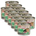 CARNY ADULT karma dla kota - wołowina, królik i kurczak 12 x 200 g