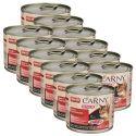 Karma CARNY SENIOR wołowina + indycze serca 12 x 200 g