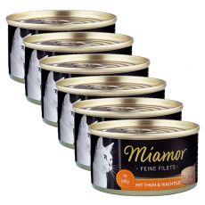 Konserwa Miamor Filet kurczak i przepiórcze jaja 6 x 100 g