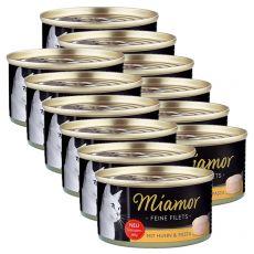 Konserwa Miamor Filet kurczak i makaron 6 x 100 g