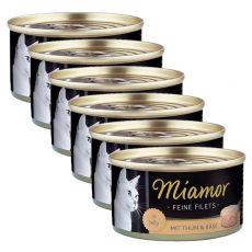 Konserwa Miamor Filet tuńczyk i ser 6 x 100 g