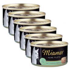 Konserwa Miamor Filet tuńczyk i warzywa 6 x 100 g