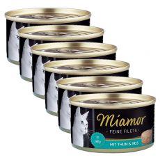 Konserwa Miamor Filet tuńczyk i ryż 6 x 100 g