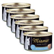 Konserwa Miamor Filet tuńczyk i krewetki 6 x 100 g