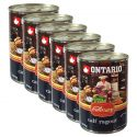 Konserwa ONTARIO Culinary Calf Ragout with Duck 6 x 400 g