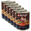 Konserwa ONTARIO Culinary Calf Ragout with Duck 6 x 800 g