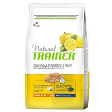 Trainer Natural Small and Toy Adult, kurczak i ryż 2 kg