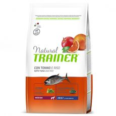Trainer Natural Medium Adult ryba i ryż 12 kg