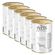 4Vets Natural Veterinary Exclusive LOW STRESS 6 x 400 g